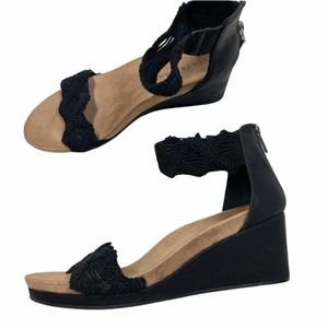 Lucky brand kaydyn 3 in wedge sandal croch…